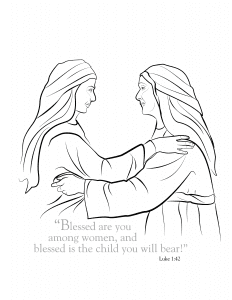 Blessed are you among women-01