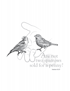 Two Sparrows-01