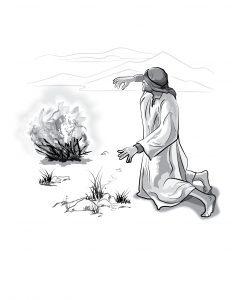 Moses and Burning Bush-02